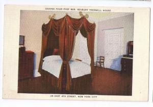 Seabury Tredwell Treadwell House New York City Four Post Bed