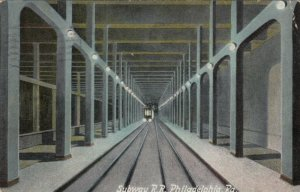 PHILADELPHIA , Pa. , 1900-10s ; Subway R.R.