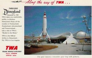 DISNEYLAND , 50-60s ; TWA Rocket