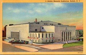 New York Buffalo Memorial Auditorium Curteich