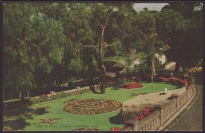 Floral Clock,Taronga Zoo,Australia Postcard