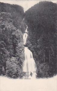Switzerland Giessbach Wasserfall