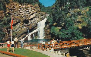 Canada Alberta Cameron Falls Waterton Lakes