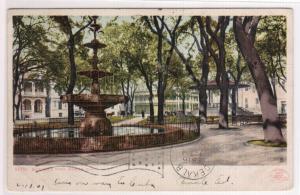 Bienville Park Mobile Alabama 1907 postcard