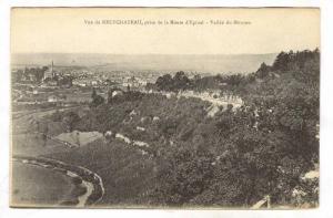 Vue De Neufchateau, Prise De La Route d'Epinal, Vallee Du Mouzon (Vosges), Fr...