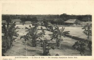 CPA Francais Congo Afrique - Le Poste de Nola (86657)