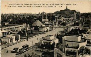 CPA PARIS EXPO 1925 vue panoramique vers le Pont Alexandre III (860224)