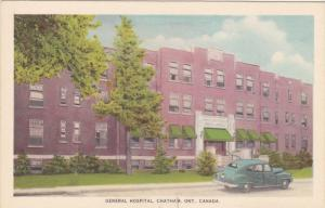 General Hospital, CHATHAM, Ontario, Canada, 1930-1940s