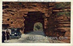 Boones Tunnel South Entrance - Lexington, KY