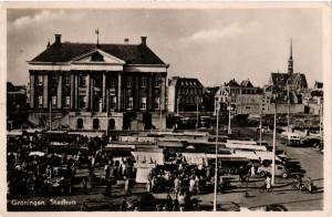CPA GRONINGEN Stadhuis NETHERLANDS (604288)