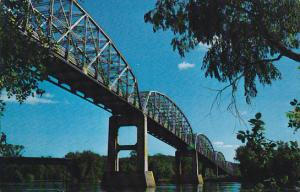 Bridge on the Wisconsin River, Highway 18 & 35, Mississippi River, McGregor, ...