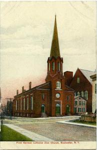 First German Lutheran Zion Church - Rochester NY, New York - DB