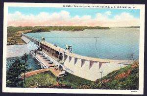 Bagnell Dam Lake Ozark Missouri unused c1932