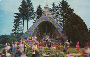 Maine Kennebunkport Shrine Of Our Lady Of Lourdes At St Anthony Frannciscan M...