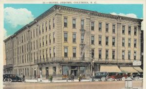 COLUMBIA , South Carolina , 1910s ; Hotel Jerome
