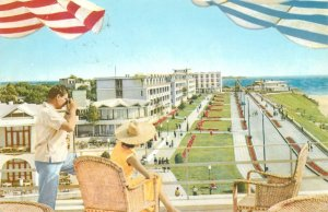 Postcard Romania Mangalia North villas
