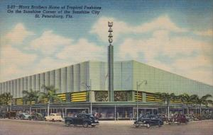 Florida St Petersburg Maas Brothers Department Store Curteich