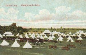 NIAGARAGA-on-the-Lake, Ontario, Canada, 1900-10s; Artillery Camp