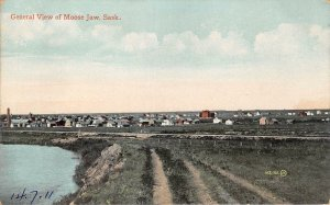 br105546 general view of moose jaw sask canada