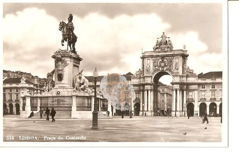 Postal 034713 : Lisboa. Praça do Comercio