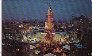 Indiana Indianapolis World's Tallest Christmas Tree