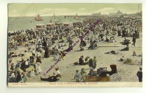 tp1571 - Beach nr Britannia Pier , Great Yarmouth,  Norfolk - postcard