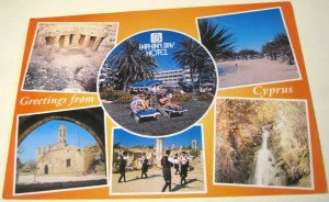 Cyprus Greetings from Paphian Bay Hotel PBH51 - unposted