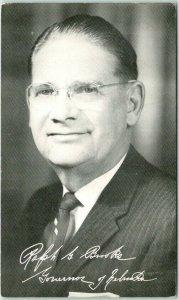 c1960 Nebraska Political Postcard RALPH G. BROOKS - 29th Governor Democrat