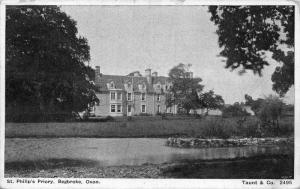 St Philip's Priory Begbroke Oxon Postcard