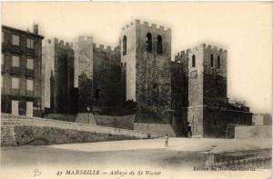CPA AK MARSEILLE Abbaye de St-Victor (404643)