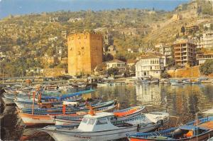 Turkey Kizilkule Alanya - Turkiye, boats, bateaux