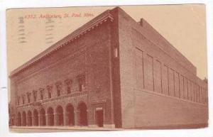 Auditorium, St Paul, Minnesota, PU-1916