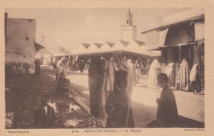 MAZAGAN(Maroc), Morocco, 00-10s; Women in Traditional Dress at Le Marche, Market