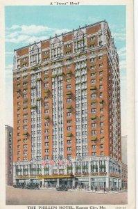 KANSAS CITY , Missouri , 1910s ; The Phillips Hotel