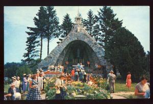 Kennebunkport, Maine/ME Postcard, Shrine Of Our Lady Lourdes