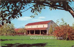 Old Vintage Shaker Post Card Building Containing Tool Collection Shelburne, V...