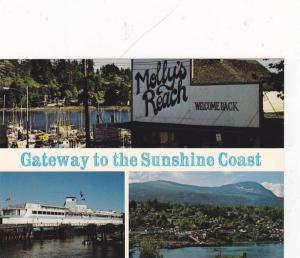 3-Views, Molly's Reach -Welcome Back, Gateway To The Sunshine Coast, British ...