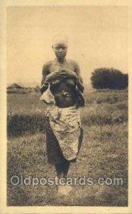 Ruanda African Nude Unused close to perfect corners