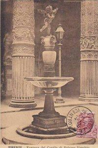 Italy Firenze Fontana del Cortile di Palazzo Wvecchio 1909