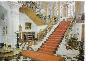 Devon Postcard - Arlington Court - Barnstaple - Staircase Hall - Ref AB2661