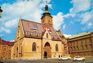 Croatia Zagreb Chiesa di S. Marco Church