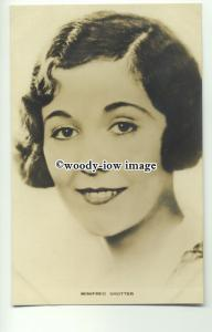 us0062 - Film Actress - Winifred Shotter - postcard by Film Weekly no 2
