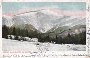New Hampshire Mount Washington In The Winter 1904