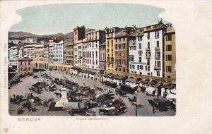 Piazza Caricamento, Genova (Liguria), Italy, 1900-1910s