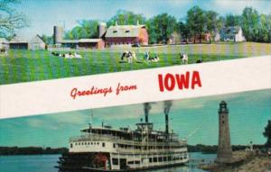 Greetings From Iowa With Riverboat