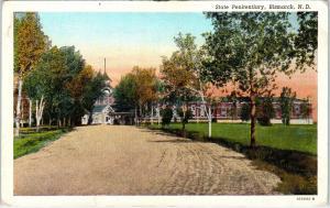 BISMARCK, ND North Dakota     STATE PENITENTIARY      c1930s   Postcard