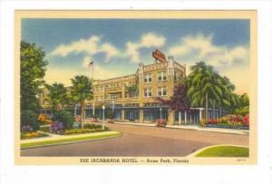 The Jacaranda Hotel, Avon Park, Florida, 1930-1940s