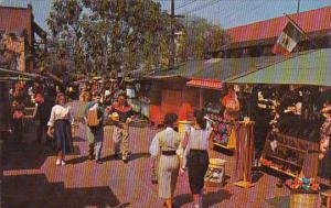 California Los Angeles Olvera Street