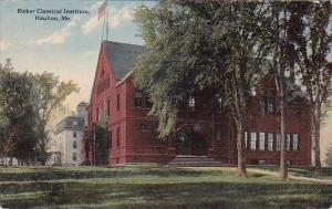 Ricker Classical Institute Houlton Maine 1915