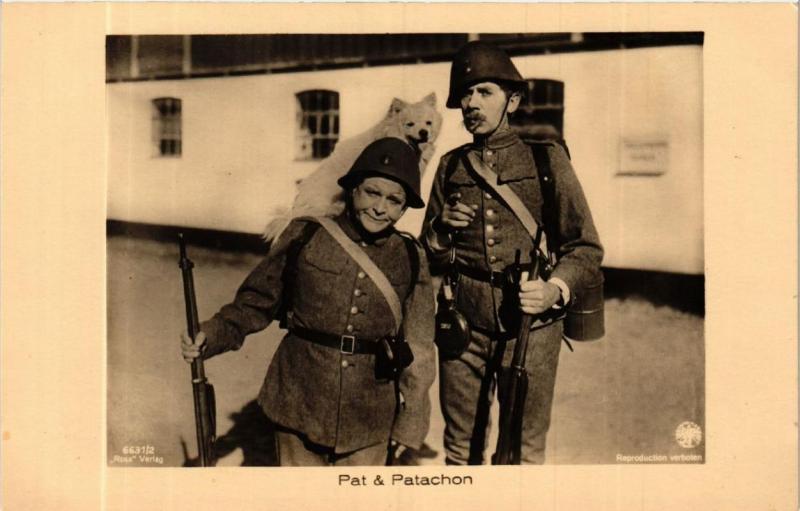 CPA PAT and PATACHON. Ross Verlag 6631/2 Film Star (601722)